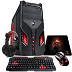 PC G-fire AMD A4 7300 8GB 1TB Radeon HD8470d 2GB Integrada Computador Gamer Hermes V Gkh Htg-96