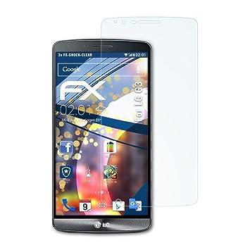 atFoliX Antichoque Película Protectora Compatible con LG G3 ...