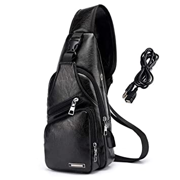 US Tactical Men Sports Chest Bag Shoulder Messenger Outdoor Small Cross Body Bag