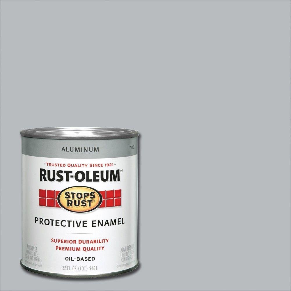 1-qt. Metallic Aluminum Enamel Paint (2-Pack)