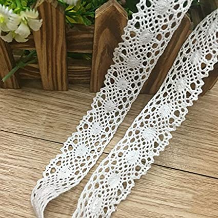 Amazon Scallop Lace Embroidered Crochet Trim Home Diy Clothing