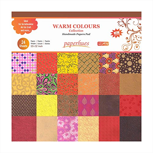 Pad Decoupage (Paperhues Warm Colors Collection Scrapbook Papers 12x12