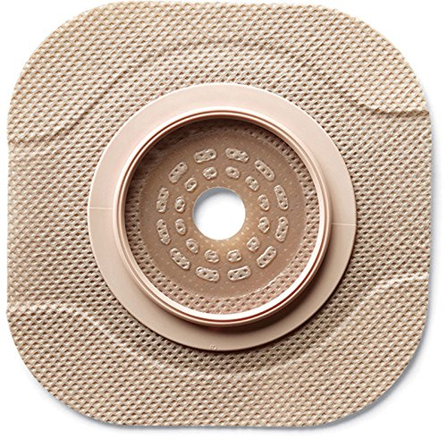 5011203BX - New Image CeraPlus 2-Piece Cut-to-Fit Tape Border (Extended Wear) Barrier Opening 1-3/4 Stoma Size 2-1/4 Flange Size
