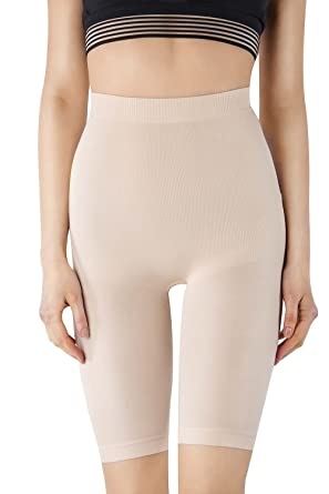193daefaa0 MD Women s Shapewear Inner Thigh Body Shapers For Tummy And Thighs Small  Nude