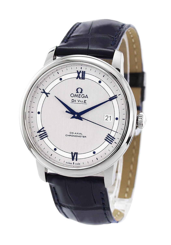 オメガ デビル プレステージ アリゲーターレザー 腕時計 メンズ OMEGA 424.13.40.20.02.003[並行輸入品] B0755BHVVF