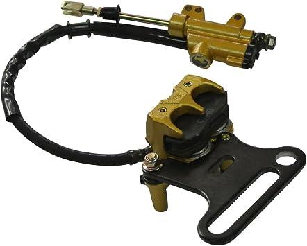 Jrl Bremssattel Bremsbeläge Hinten Hydraulisch Aus Gold System Pad 70 Cc 500cc Pit Pro Dirt Bike 15 Mm Auto