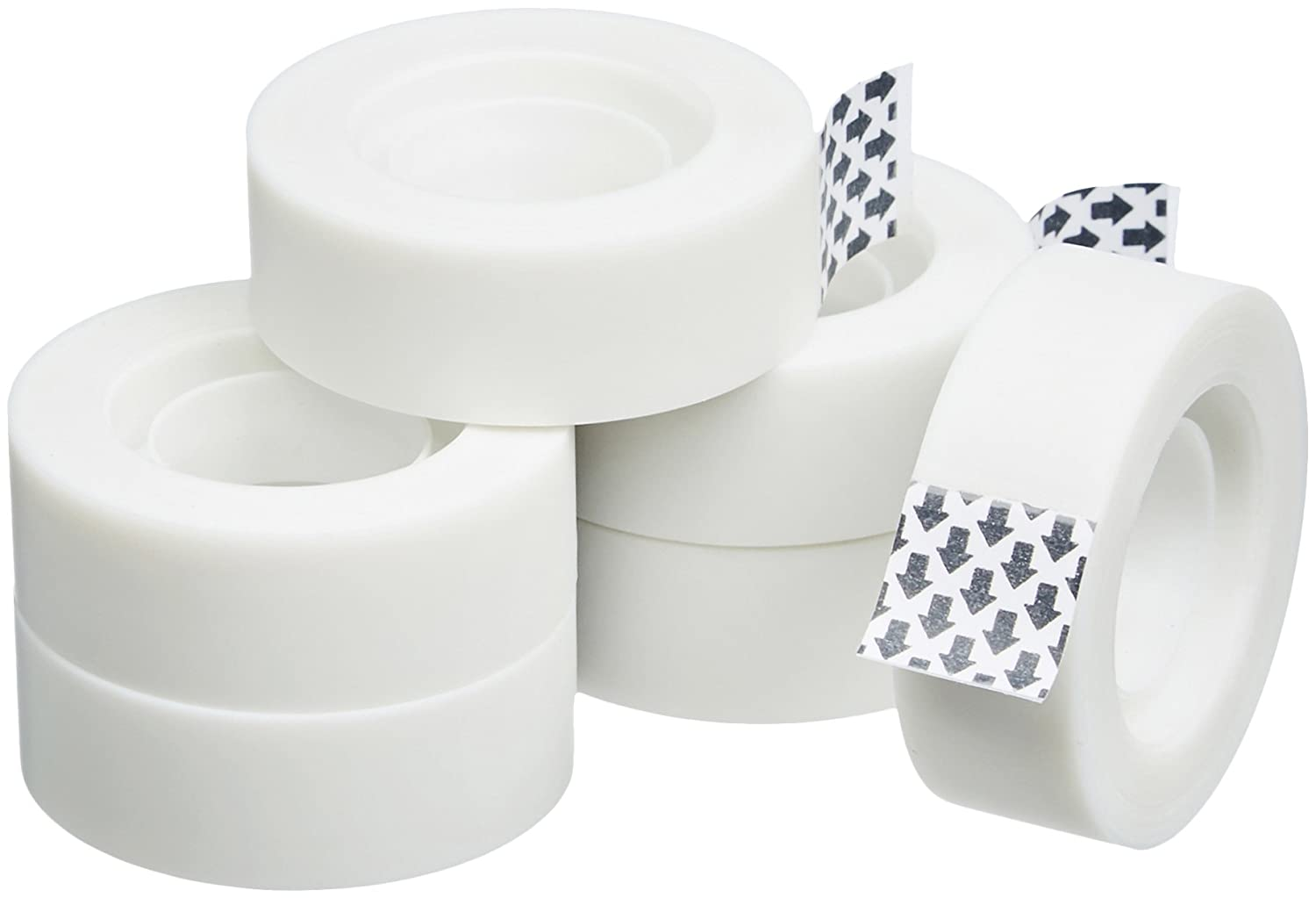 AmazonBasics Office Tape - 6-Pack
