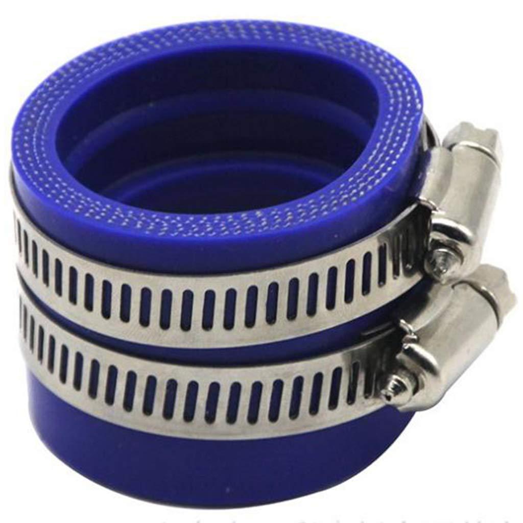 B Blesiya Manchon de Tubulure Dadmission de Moto 32 mm pour PWK OKO Bleu