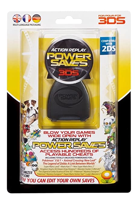 257 opinioni per Action Replay Power Saves, L'ultimo sistema di trucco per 3DS