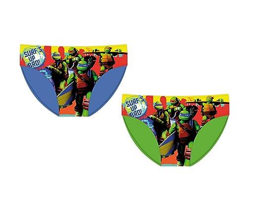 Tortugas Ninja - Disfraz Slip Colore : Verde 6 años: Amazon.es ...