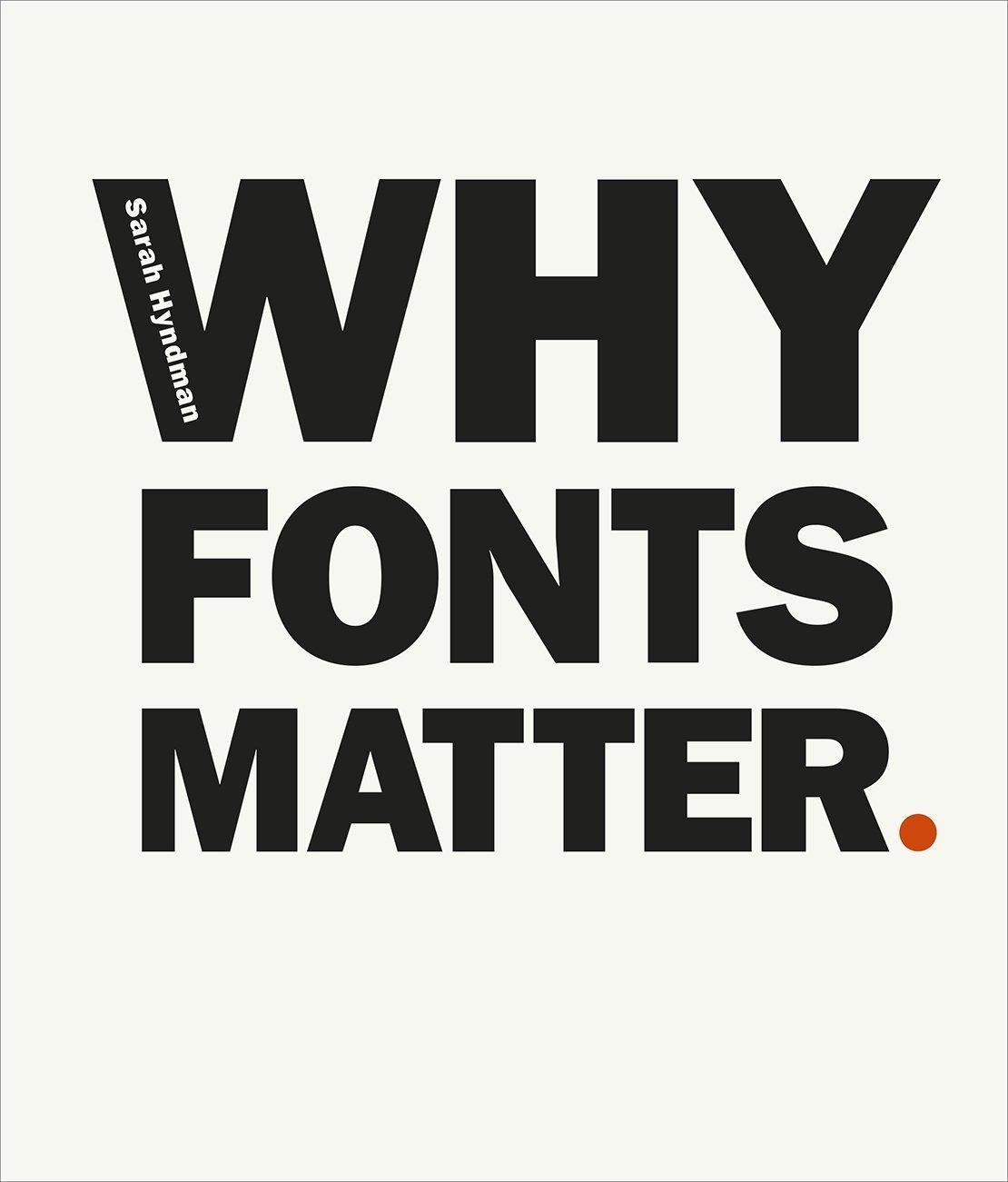 amazon why fonts matter sarah hyndman branding logo design