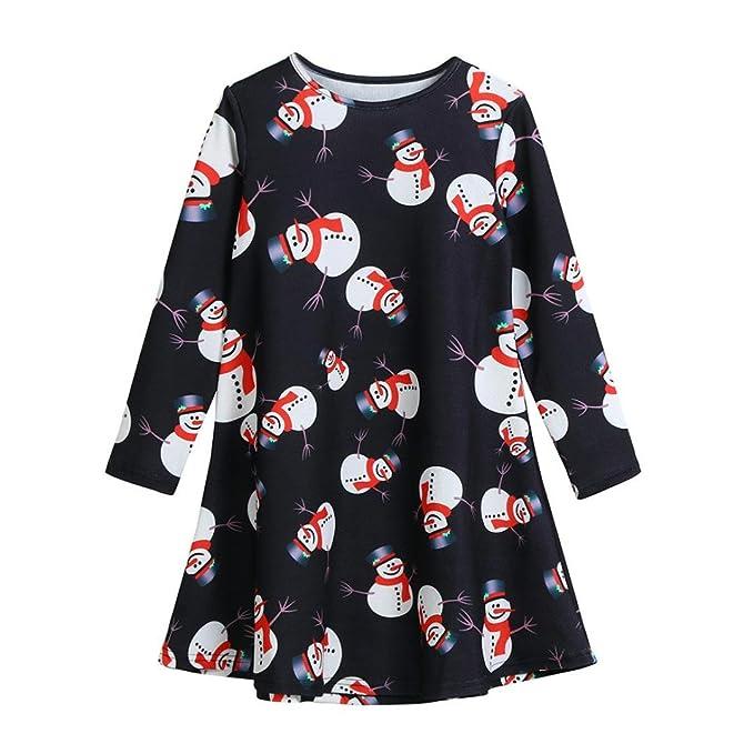 Amazon.com: keepfitkid Navidad, ropa de bebé niña muñeco de ...