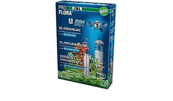JBL ProFlora u501 Sistema de fertilisation AU Co ₂ para acuariofilia: Amazon.es: Productos para mascotas