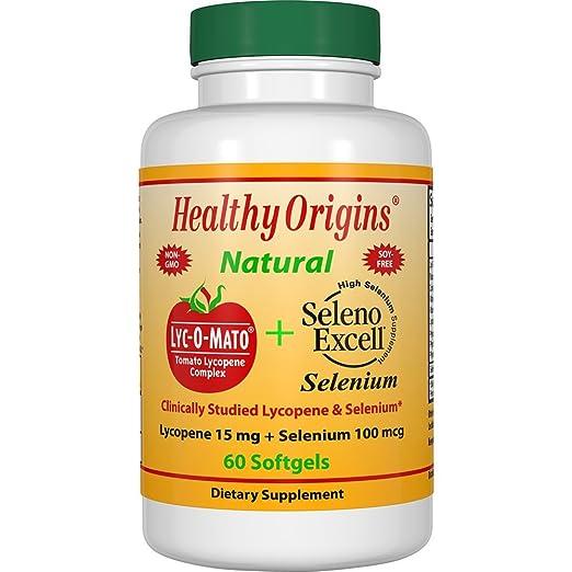 Healthy Origins Lyc-O-Mato, Seleno, 60 Sg