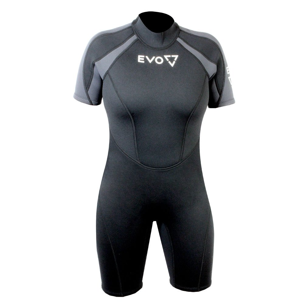 EVO 3mm Shorty Super-Stretch Wetsuit (Women's) 15/16 Black
