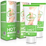 Hot Cream 2 Pack, Abdominal Fat Burner for Men and Women, Deep Tissue Massage and Muscle Relaxant, Natural Anti-Aging…