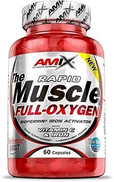 Amix Muscle Full Oxygen 60 Caps 0.2 200 g: Amazon.es: Salud y ...