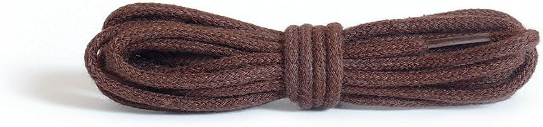 Kaps cordones finos redondos, cordones de algodón 100% de calidad para zapatos casuales y de moda, fabricados en Europa, 1 par, muchos colores y largos