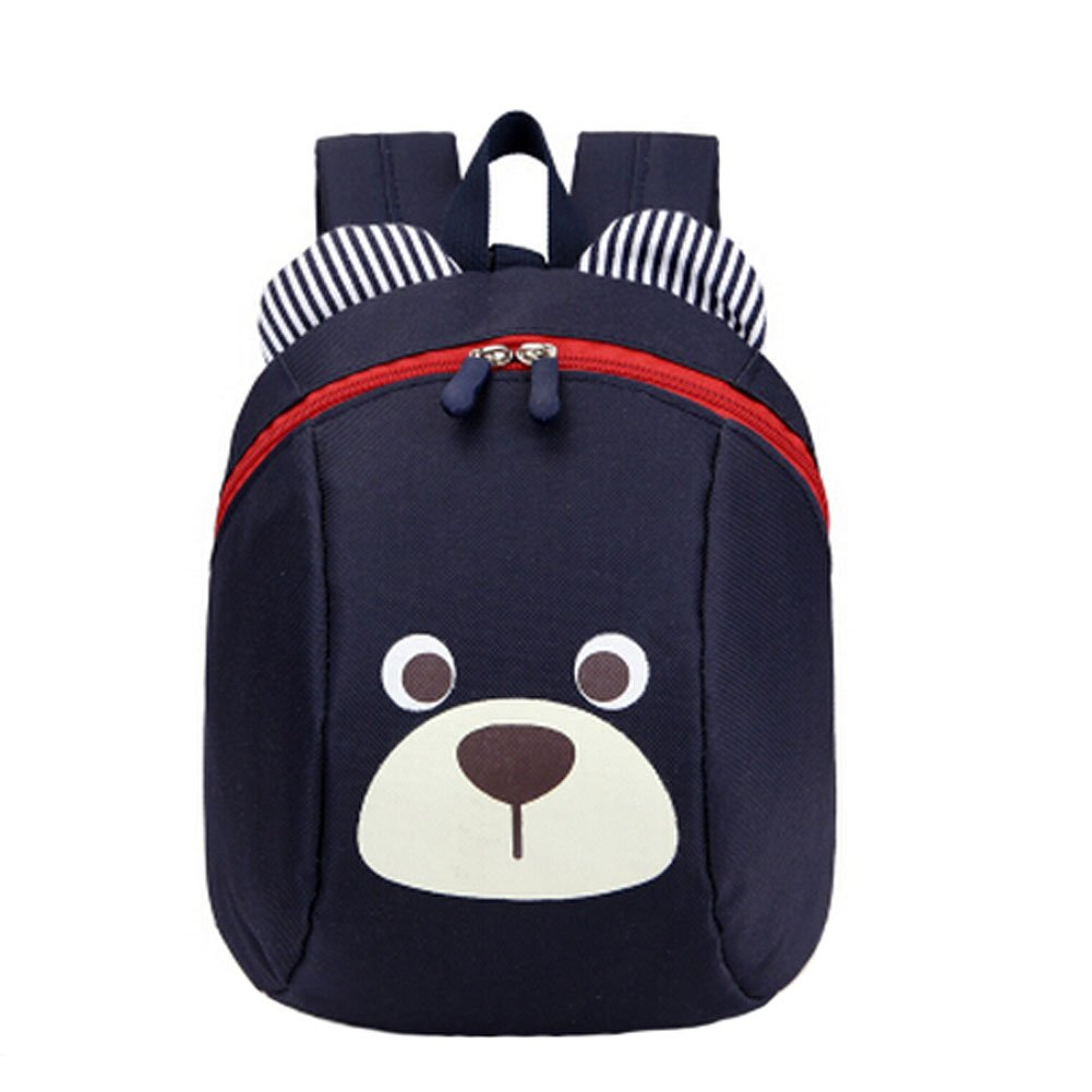 1-5 years old children shoulder small bag and cute cartoon backpack bag.Navy Blu Kylin Express