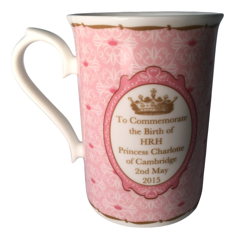 Roy Kirkham Anne Mug, Princess Charlotte, Set of 6