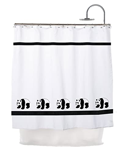 Amazon Panda Bear Shower Curtain