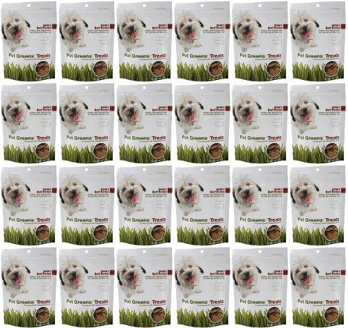 Bell Rock Jerky Dog Treats Savory Beef 6Lbs (24 x 4oz)
