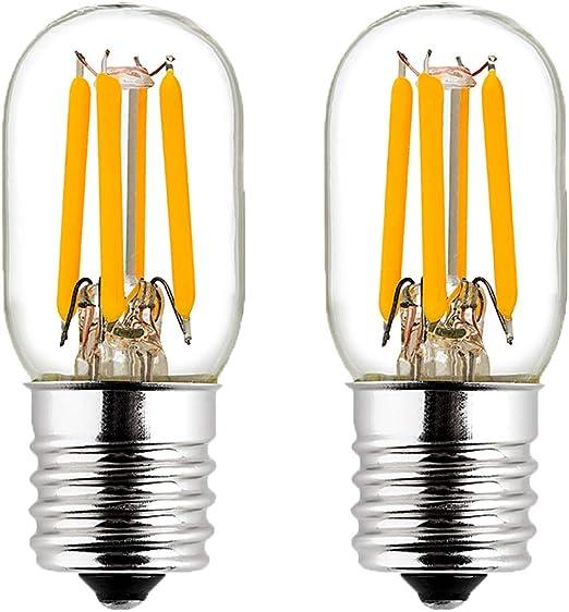 Amazon.com: LiteHistory 2 W T7/T20/T22 Edison E17 bombillas ...