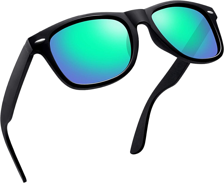 Joopin Gafas de Sol Polarizadas Hombre Retro Clásico Gafas Protección UV400 Vintage Original Mujer 100% Colección de Diseñador