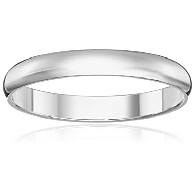 Classic Fit 10K Gold Wedding Band, 3mm
