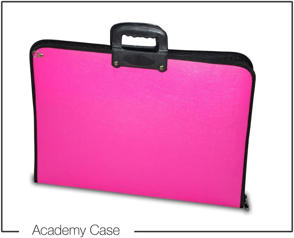 Pink Artcare 15913010 46.5 x 3 x 35.5 cm A3 Synthetic Material Academy Case