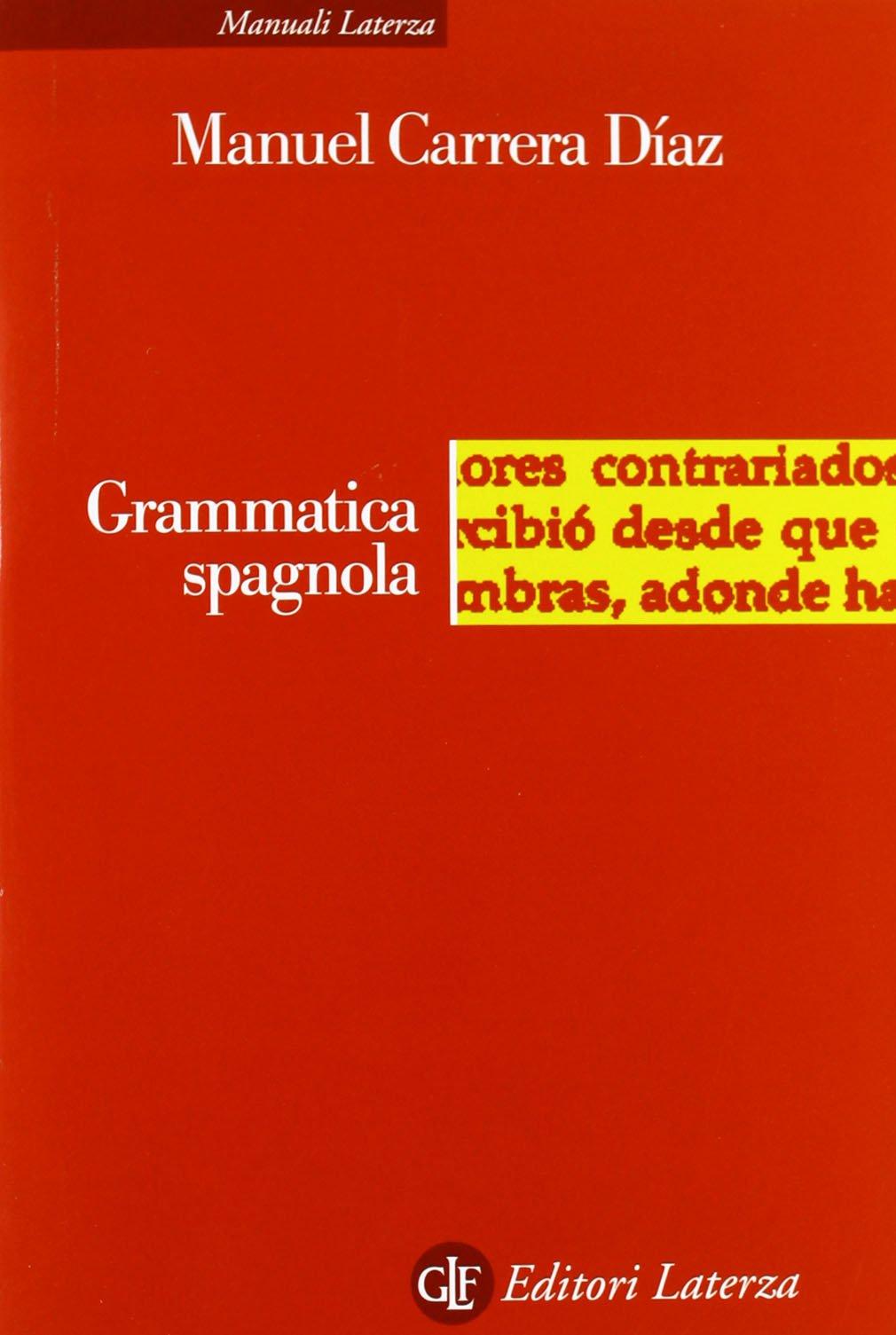 grammatica spagnola laterza