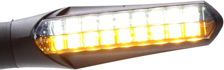 R850R Intermitente LED B-M-W R 1200C // B-M-W R 1200 CL Independiente B7 certificado E // 2 unidades