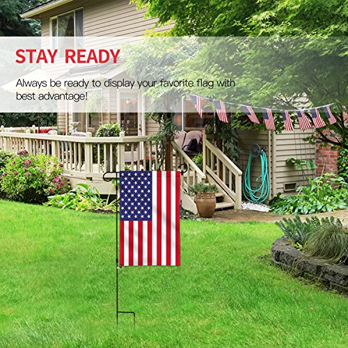 Supplies Durable Rubber Stoppers Flags Clip Flag Poles Stands Anti-Wind Clips