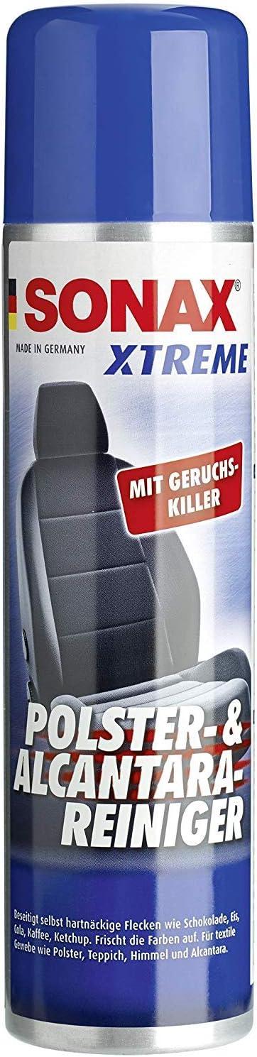SONAX XTREME Polster- & Alcantara®Reiniger (400 ml) reinigt gründlich und schonend alle Textilien im Innenraum | Art-Nr. 02063000: Amazon.de: Auto -