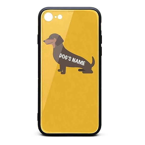 Amazon com: Dog Owner Gift Dachshund Add Dog's Name Wiener Dog Gift