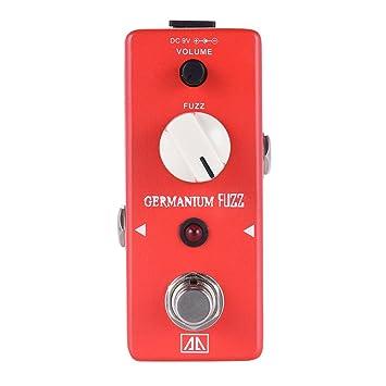 Amazon.com: ammoon AROMA AGF-5 Classic Germanium Transistor Fuzz Guitar Effect Pedal Aluminum Alloy Body True Bypass: Musical Instruments