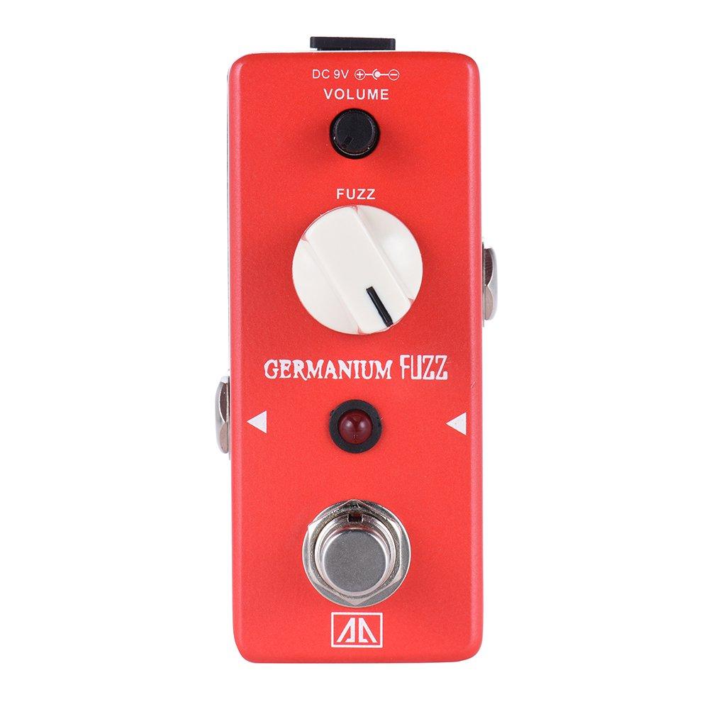 ammoon AROMA AGF-5 Classic Germanium Transistor Fuzz Guitar Effect Pedal Aluminum Alloy Body True Bypass