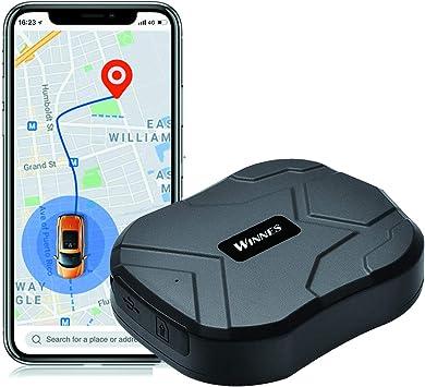 Zeerkeer Localizador GPS,Rastreador GPS 5000mAh para Coche Real Antirrobo Impermeable Fuerte imán GPS Tracker App Gratuita para Seguimiento Vehículo: Amazon.es: Electrónica