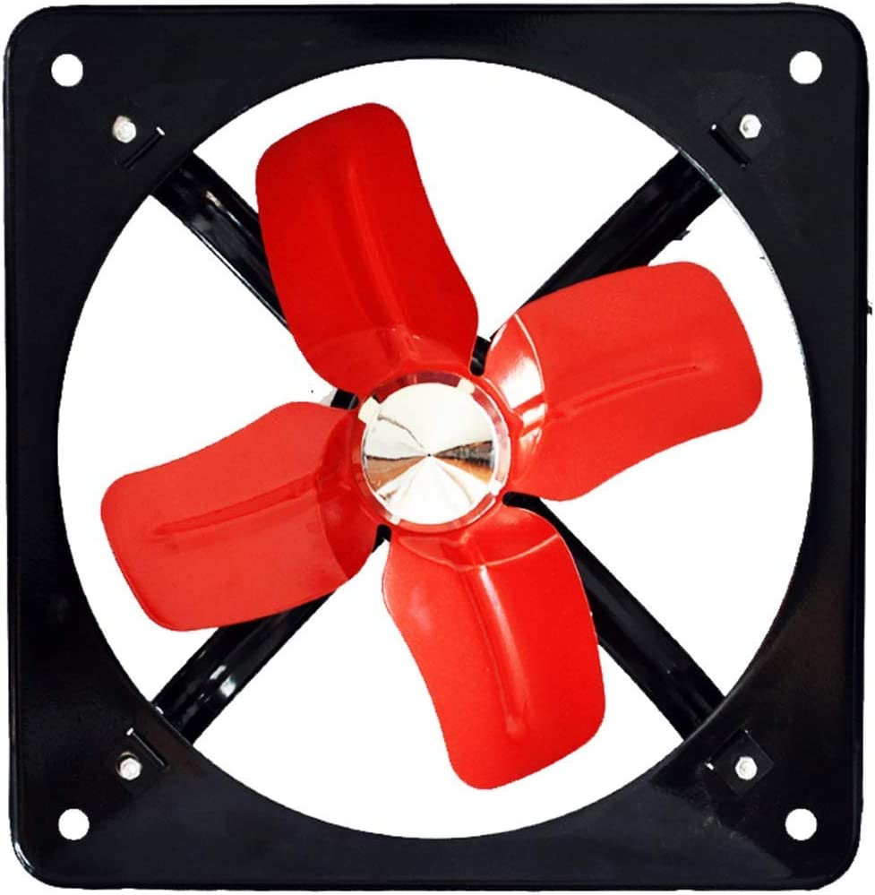 QZKFJ Extractor baño, Cocina Extractor Extintor Pulgadas de ventilación de la Cocina baño Potente energía eólica Industrial 35,5 * 35,5 cm