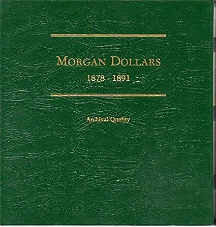 Whitman Morgan Dollar Album Vol. 1 1878-1891