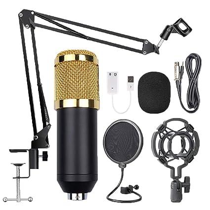 Kit de micrófonos de condensador SimpleMfD Micrófono con tapa de ...