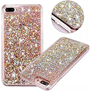 iphone 7 phone cases rose gold glitter