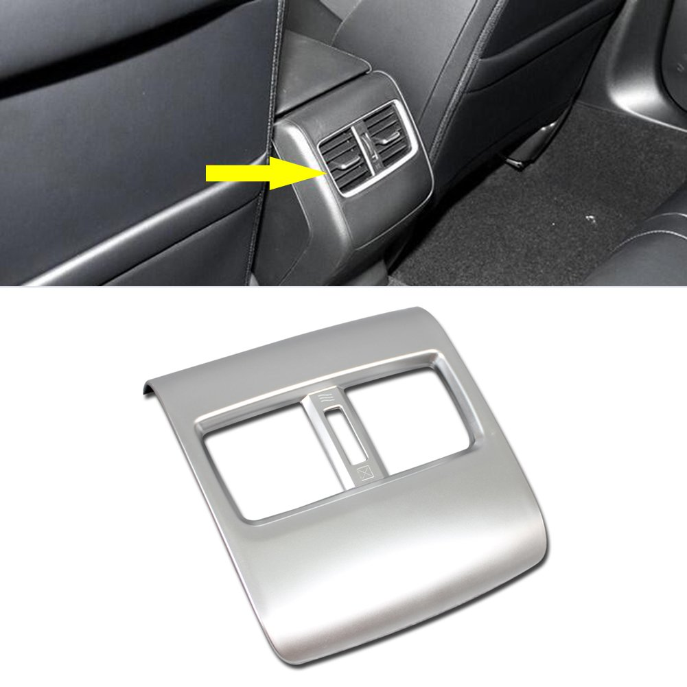 Rqing For Honda 10th New Accord 2018 Interior Air Condition Vent Outlet Cover Trims Silver Paint (Front Center) Guangzhou Ruiqing