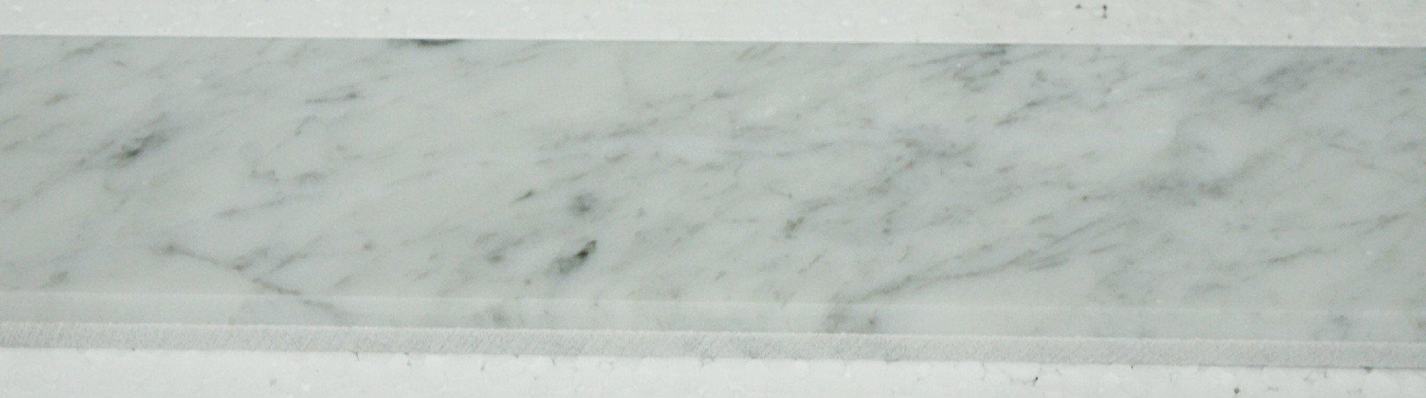 Italian Bianco Carrara Polished Marble Saddles by MarbleTileDirect (Image #4)