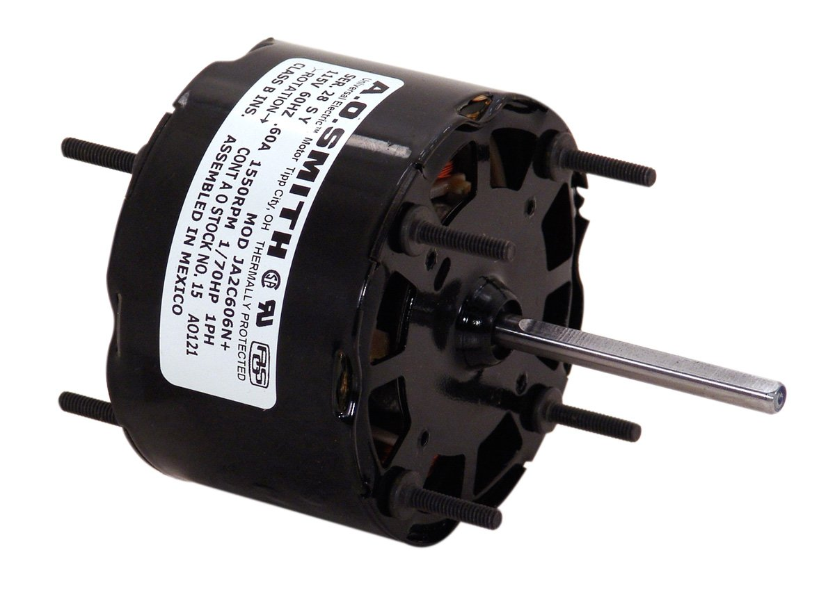 1//40-HP Century 949 Blower Motor with 3.3-Inch Frame Diameter 230-Volt 1500-RPM 0.7-Amp and Sleeve Bearing