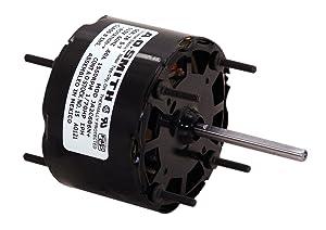 AO Smith 283.3-Inch Frame Diameter 1/30 HP 1550 RPM 115-Volt 1.1-Amp Sleeve Bearing Blower Motor