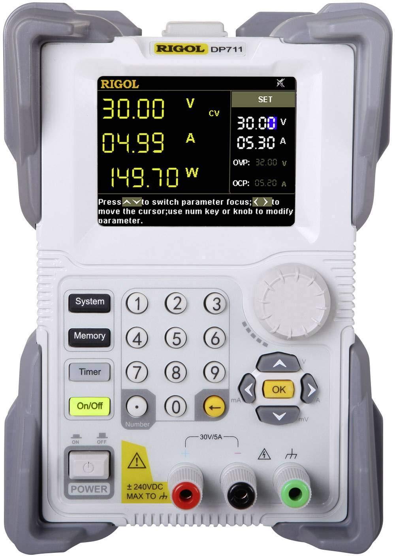 einstellbar DP711 0.01-30 V 0.01-5 A 150 W RS-232 fernsteuerbar pro Rigol Labornetzger/ät OVP