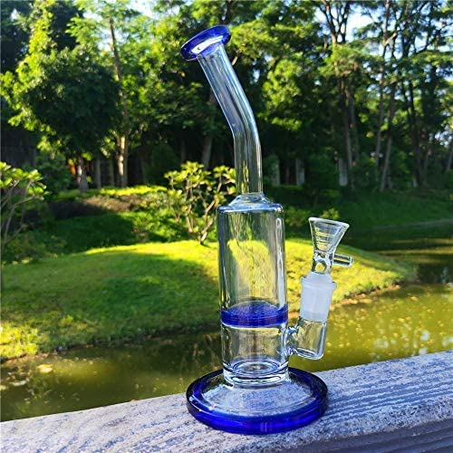 DONATE Thick Glass Smokeless Rigs Collectibles Tall 7.8 Inch