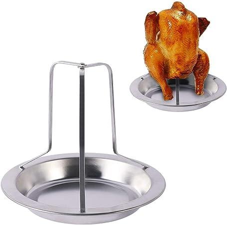 Kohlenstoffstahl Huhn Röster Rack Antihaft-Grill Grill BBQ Zubehör