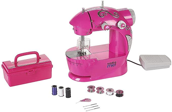 Totally Me! Pink Bling Sewing Machine and Kit by Totally Me ...